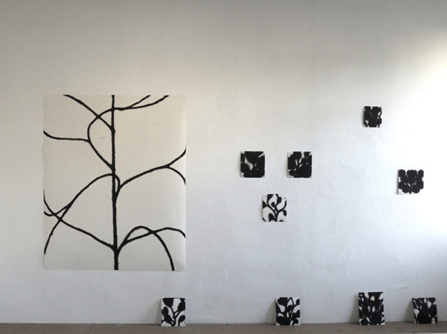 wall in the studio 2013