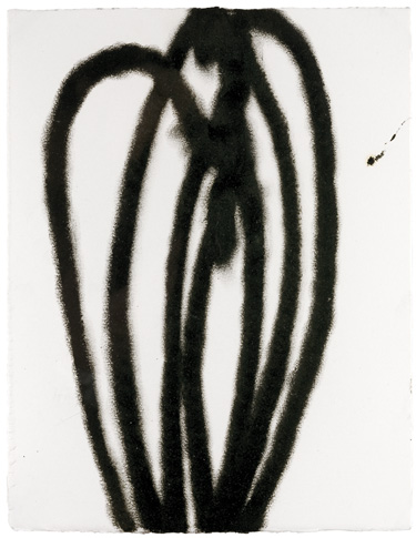 untitled, 2002, oil pastel on paper, 28,7 x 25 cm