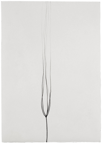 untitled, 2007, pencil on paper, 25 x 17,5 cm